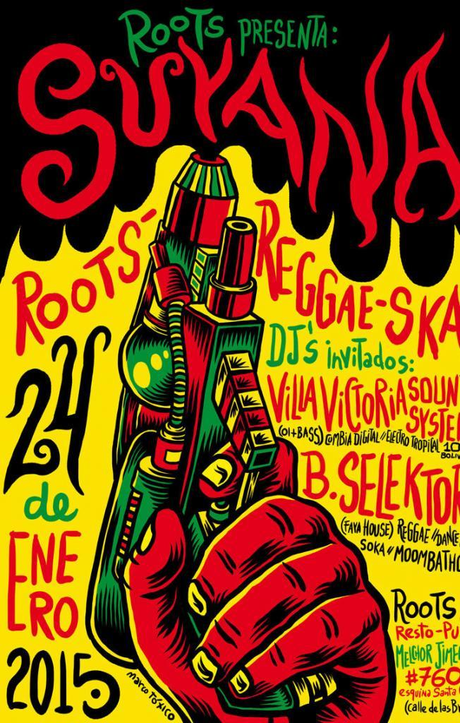 Flyer Design by Marco Tóxico