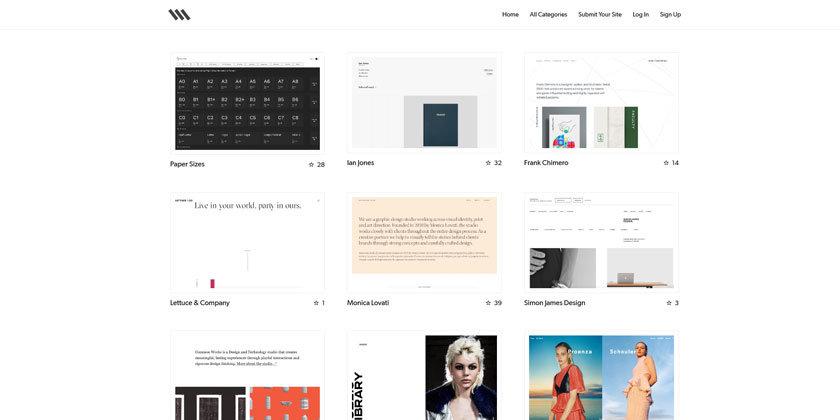 10 Lesser-known Web Design Inspiration Websites | RANDi #11