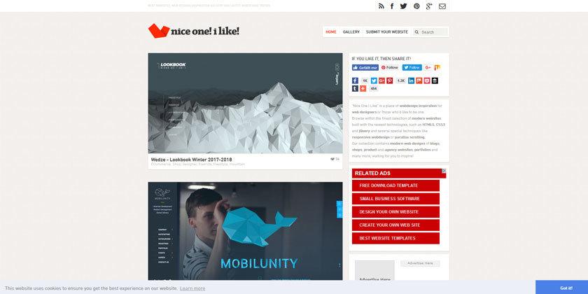 Web Design Inspiration Nice One! i like!
