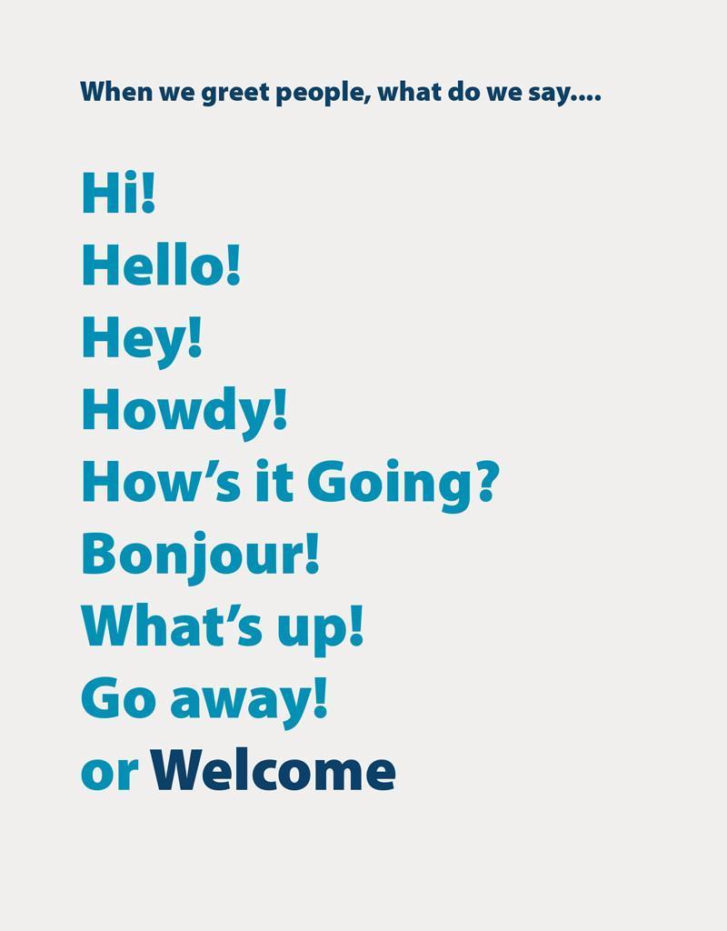 Example of brand language