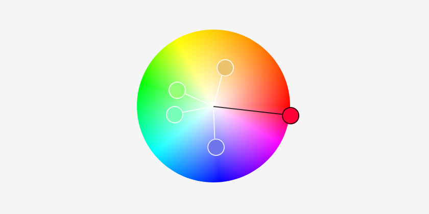 Picking Colours for branding using a colour wheel