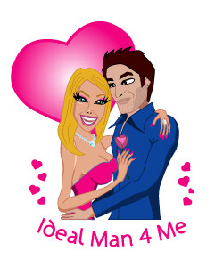 Logo for Ideal Man for me