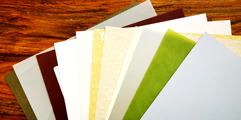 Different paper stock