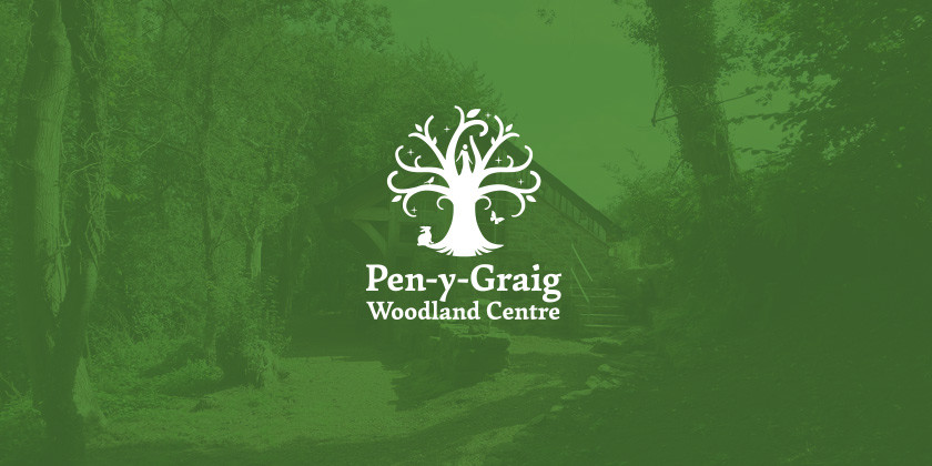 Branding Pen-y-Graig Woodland Centre