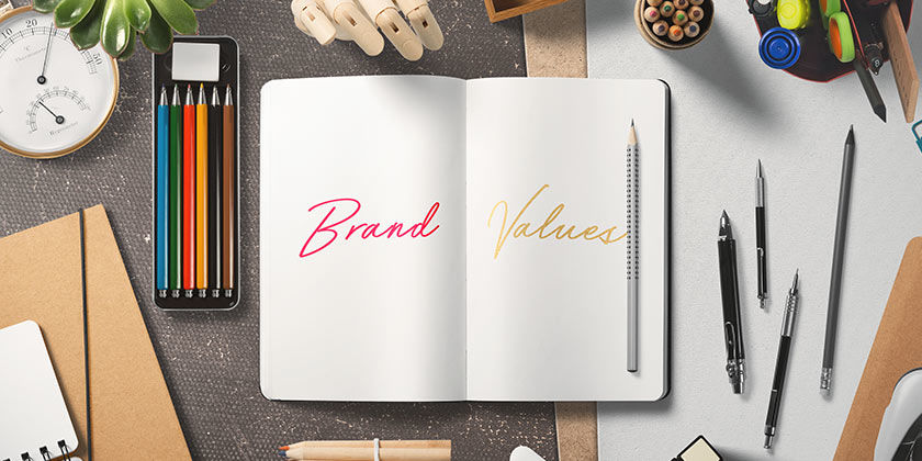 what are brand values