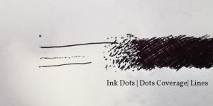 Ink covverage for resolution