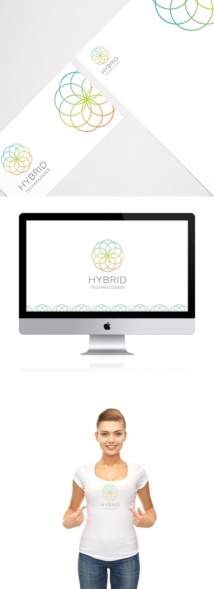 Hybrid logo Design